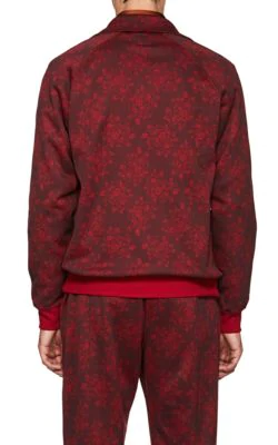 e5815d471f0610 Needles Floral Jersey Track Jacket In Wine   ModeSens