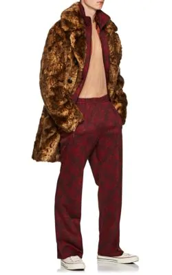 d1f900a03aa9bb Needles Floral Jersey Track Pants In Wine   ModeSens