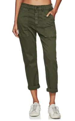 ee98654c5ac 3X1 Sabine Stretch-Cotton Tapered Chinos In Dk. Green