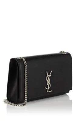 762dde7bc33 Saint Laurent Monogram Kate Medium Leather Shoulder Bag - Black ...