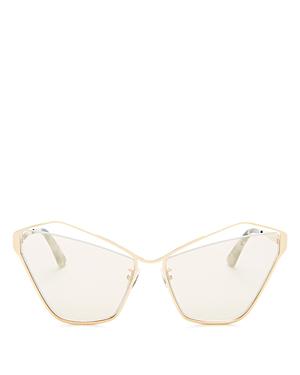 886bd8480565 Mcq By Alexander Mcqueen Mcq Alexander Mcqueen Women's Mirrored Cat Eye  Sunglasses, 61Mm In Gold