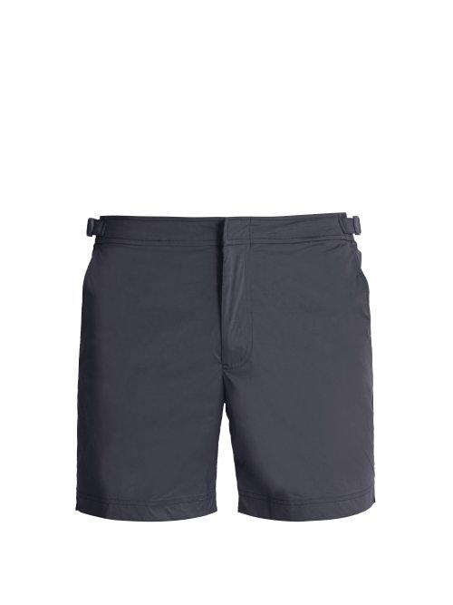 e832ae5cf9 Orlebar Brown - Bulldog Sport Swim Shorts - Mens - Grey | ModeSens