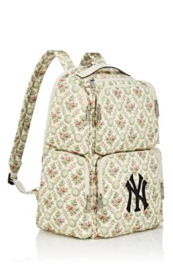 0227ed9e5912 Gucci Large Backpack With Ny Yankees™ Patch In Multi | ModeSens