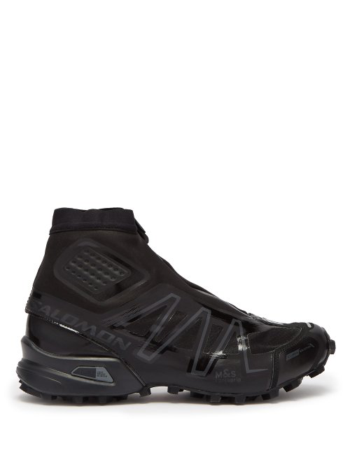 wholesale dealer ff484 a0032 Snowcross Advanced High-Top Trainers in Black