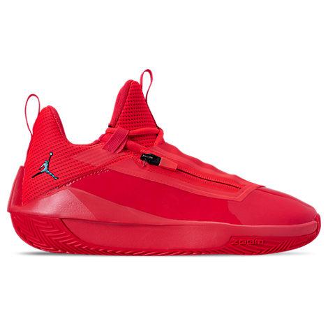 Men's Air Jordan Jumpman Hustle Basketball Shoes, Red