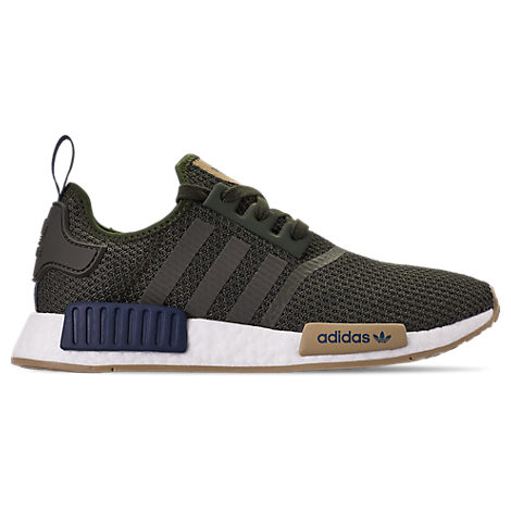 984c3d8ef Adidas Originals Adidas Men s Nmd R1 Casual Sneakers From Finish Line In  Night Cargo Collegiate