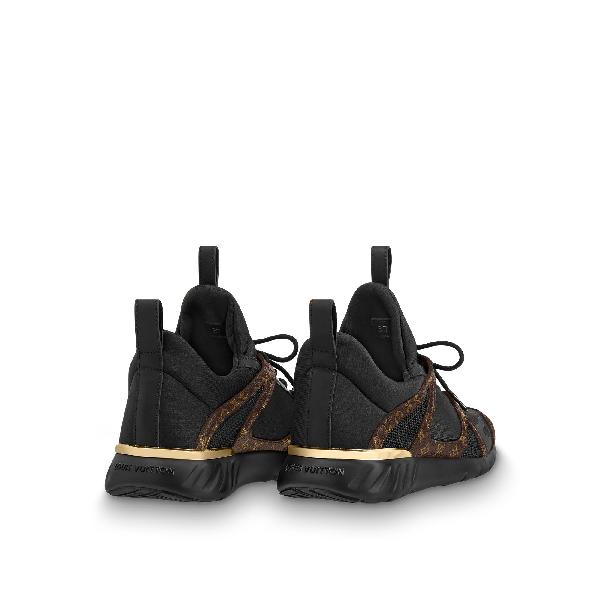 cd8b252ea1ab Louis Vuitton Aftergame Sneaker In Noir