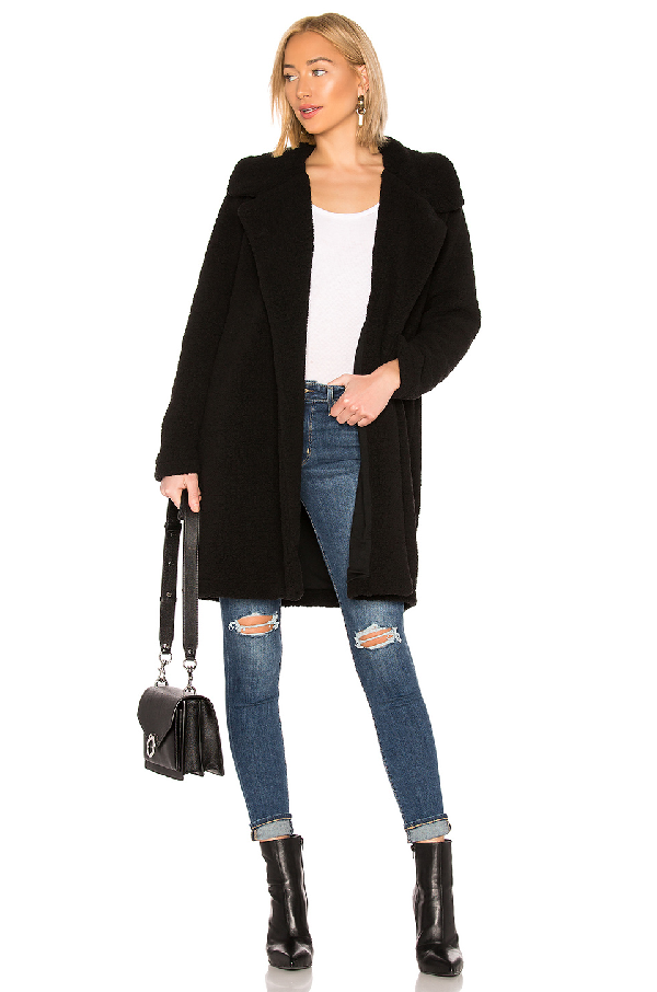 af19fb6d10 Splendid Faux Sherpa Long Cardigan In Black | ModeSens