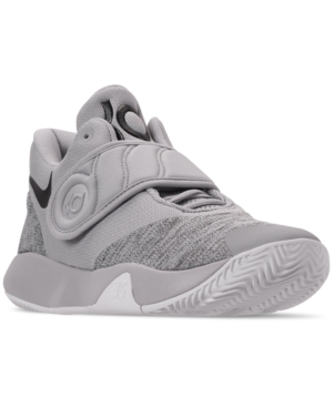 low priced 05244 153da Nike Men s Kd Trey 5 Vi Basketball Sneakers From Finish Line In Wolf  Grey Black