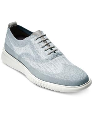 b846d442d6d9 COLE HAAN. Men s 2.Zerogrand Stitchlite Water Resistant Oxfords Men s Shoes  in Magnet  Vapor Grey