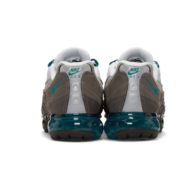 e5da1c4837 Nike Black And Blue Air Vapormax 95 Sneakers In 002 Blk/Blu | ModeSens