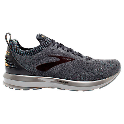 4f44615140bd3 Brooks Men s Levitate 2 Le Running Sneakers From Finish Line In Grey Black