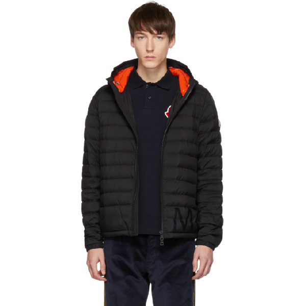ce6a23b88 Dreux Hooded Quilted-Down Jacket in Black