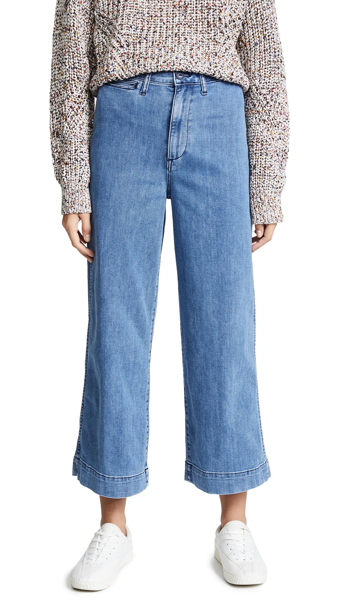 29e77a38a Madewell Emmett Wide Leg Crop Jeans In Rosalie | ModeSens