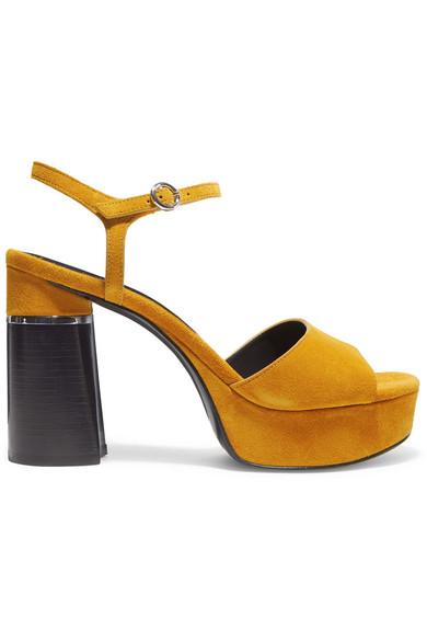 801ca3c7e66 Ziggy Suede Platform Sandals in Mustard