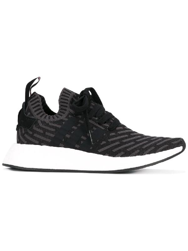 faab9c942 Adidas Originals Adidas Nmd R2 Primeknit Sneakers - Black