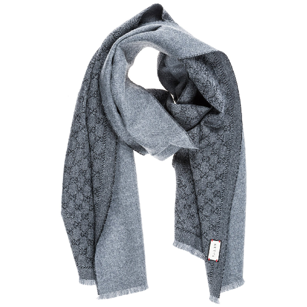 732fd5b7 Gucci Gg Jacquard Scarf in Only One Size