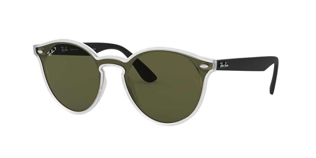 285a22ce45 Ray Ban Ray-Ban 37 Clear Panthos Sunglasses - Rb4380N In Clear Frames Green