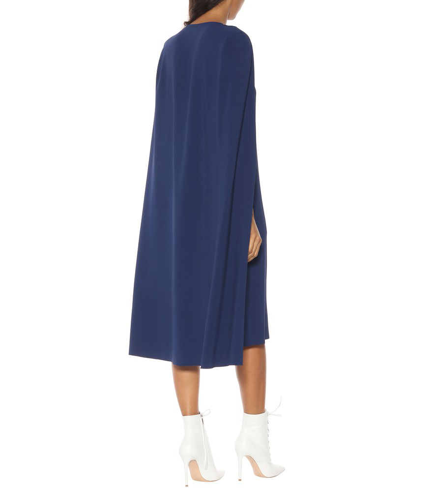 034192b791ba Stella Mccartney Cape-Back Cady Sheath Dress