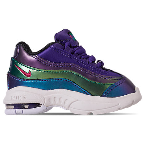 info for 3c060 f21e0 Girls' Toddler Air Max 95 Se Casual Shoes, Purple - Size 4.0