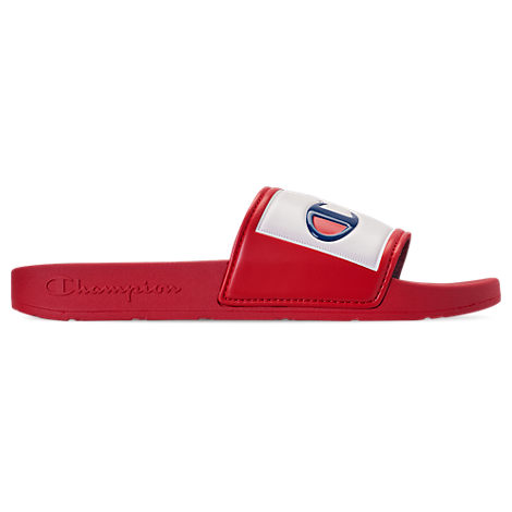 e4cd972d02c Champion Men s Ipo Jock Slide Sandals From Finish Line In Red