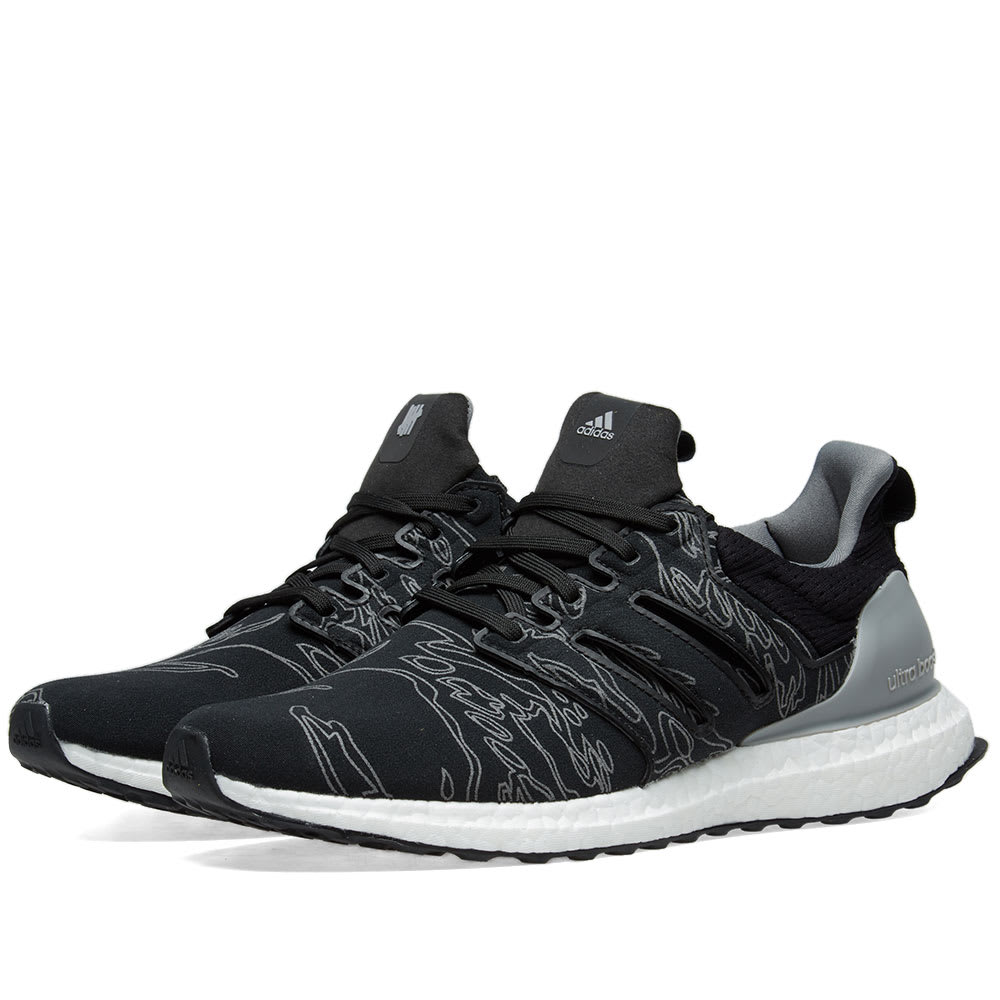save off b0e1f 6e08a Adidas X Undefeated Ultra Boost in Black
