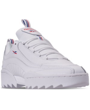 buy online cb7f9 7920f Reebok Men s Classics Rivyx Ripple Casual Shoes, White In White Excellent  Red Colle