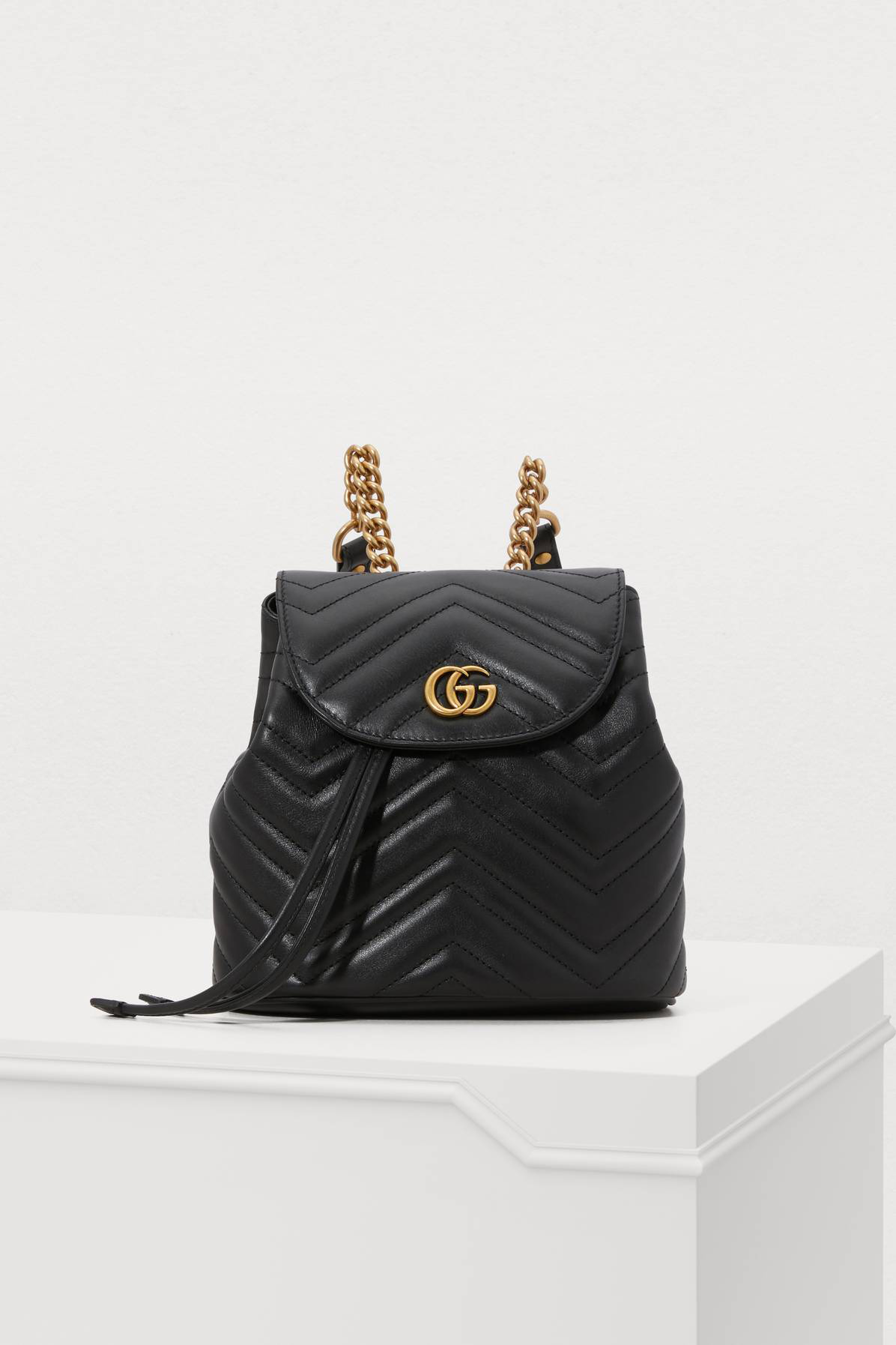 49f91dd40 Gucci Gg Marmont 2.0 Matelasse Leather Mini Backpack - Black | ModeSens