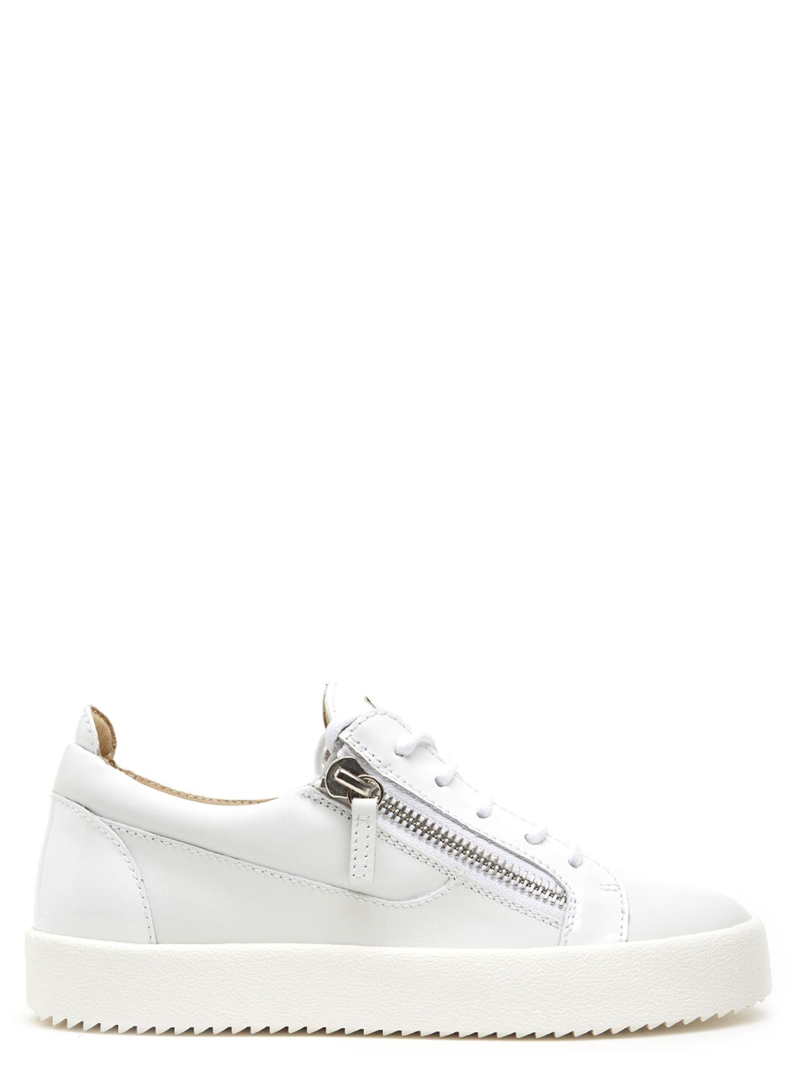 4c00d5446ae84 Giuseppe Zanotti Nicki Low-Top Sneakers In White   ModeSens