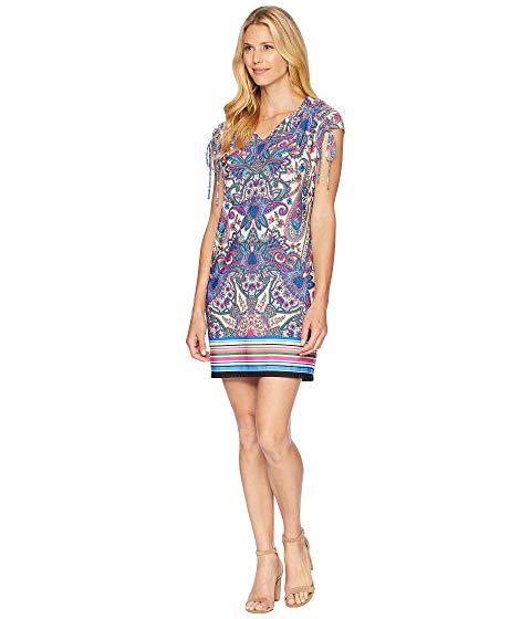 0ad63b4de52 London Times Printed Matte Jersey Dress