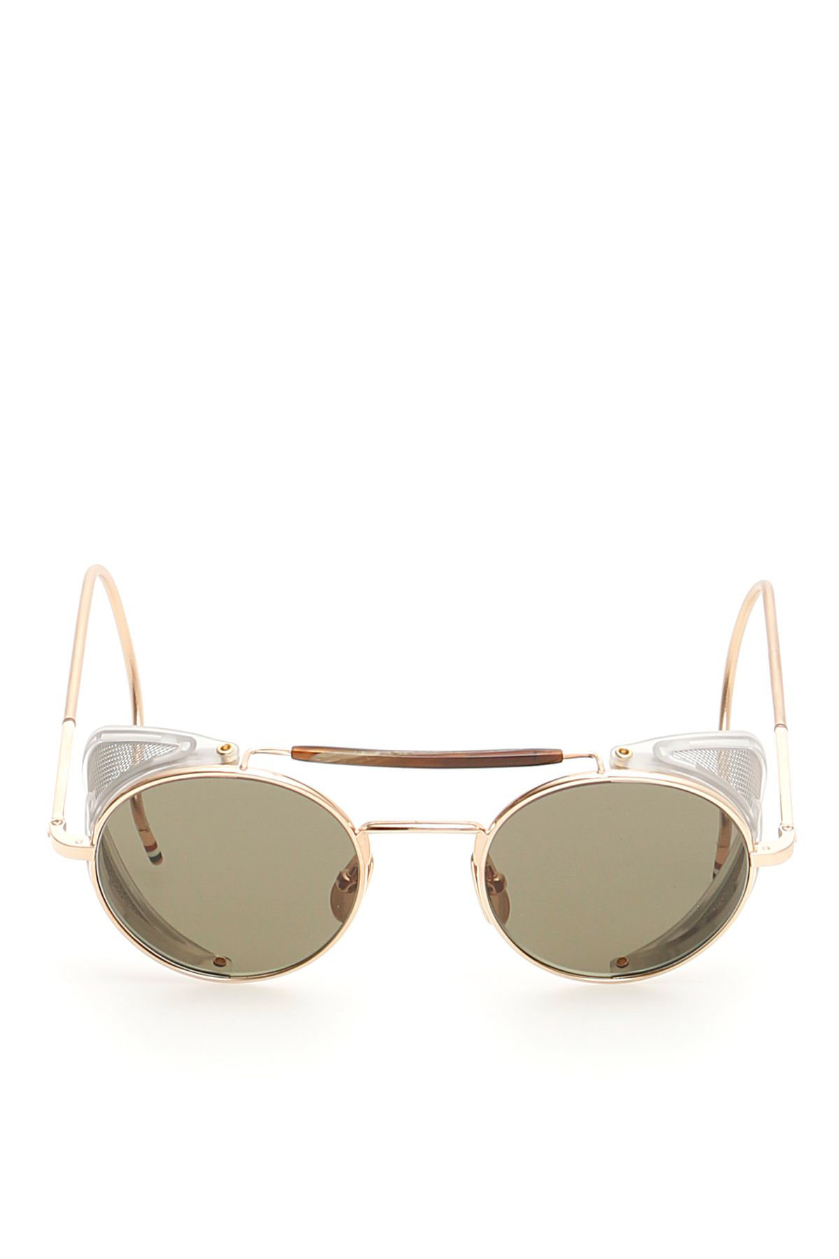 834a545a0023 Thom Browne Unisex Tb-001 Sunglasses In Shiny 12K Gold