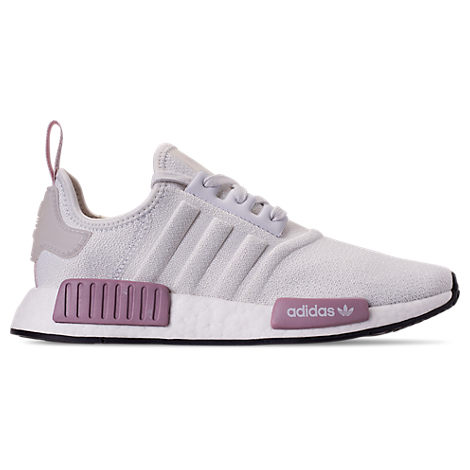 861c62e92 Adidas Originals Women s Nmd R1 Knit Athletic Sneakers In White ...