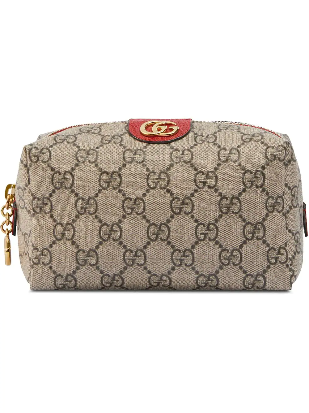 b74bb5596a3efb Gucci Ophidia Gg Supreme Canvas Make-Up Bag In Neutrals | ModeSens