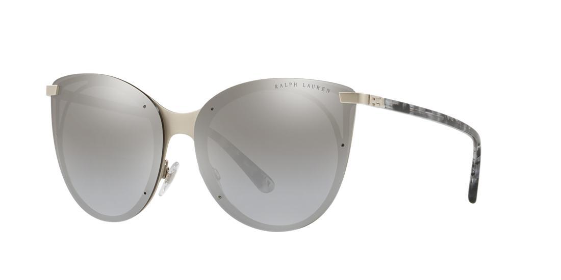 d0138314aa62 Ralph Lauren 63 Silver Butterfly Sunglasses - Rl7059 In Silver  Frames/Silver Lenses