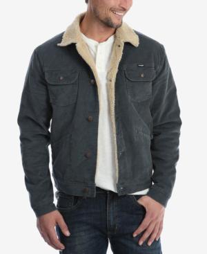 7ec77970 Wrangler Men's Heritage Sherpa Lined Corduroy Jacket In Grey | ModeSens