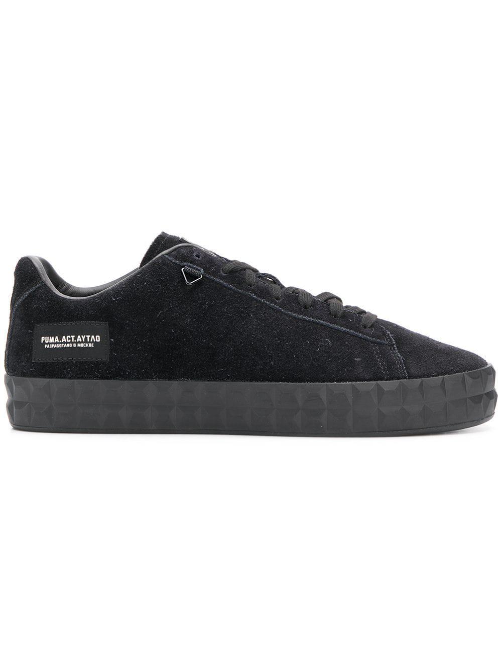 Puma Puma X Aytao Outlaw Moscow Court Platform Sneakers Black
