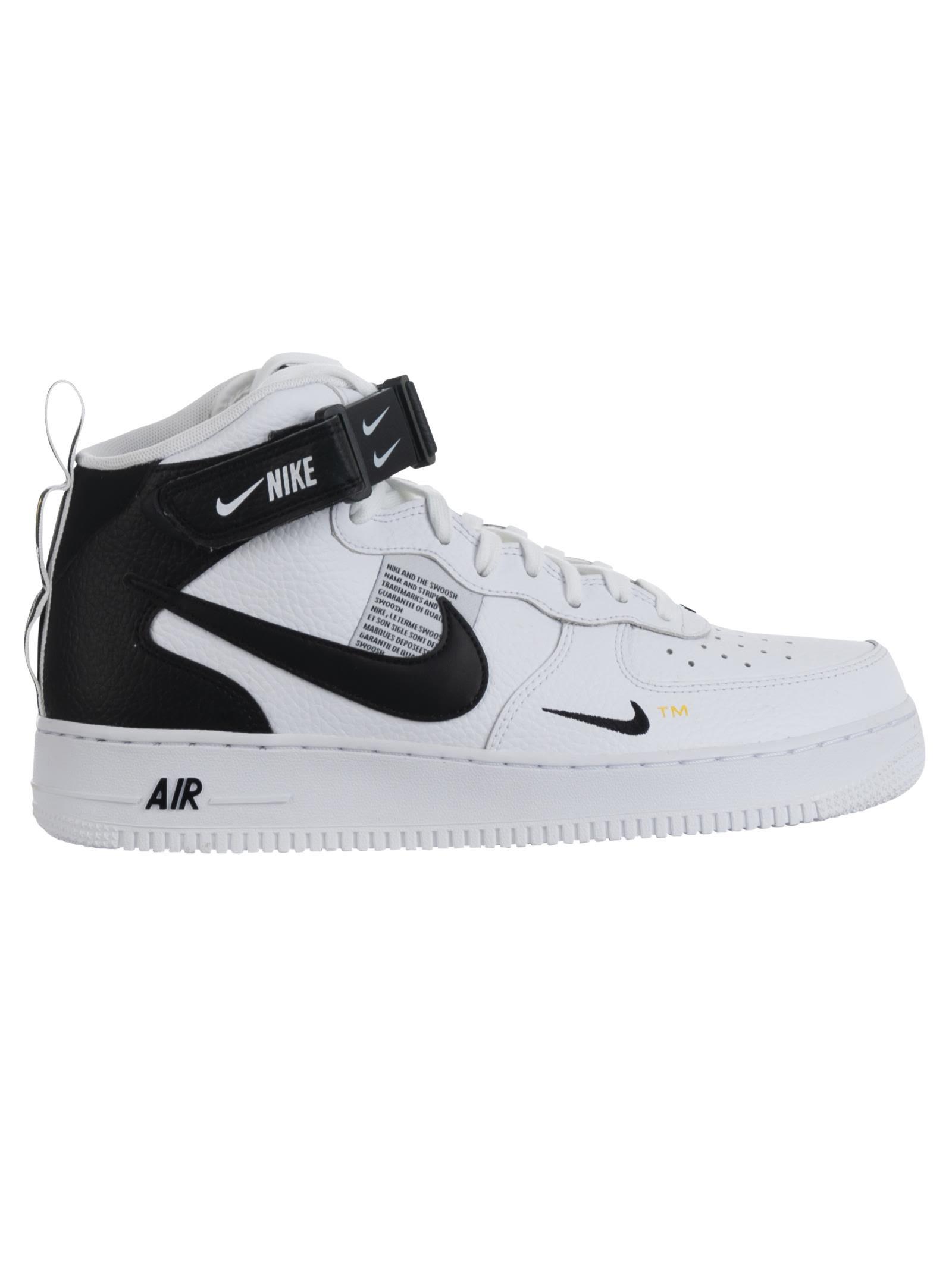air force 1 bianco nere