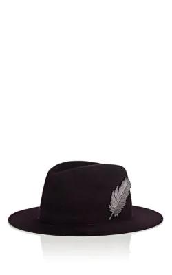 005deb015c752 Filuhats Gstaad Fur Felt Fedora - Purple