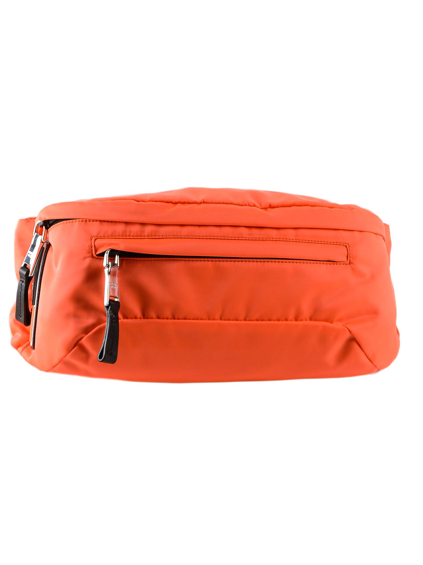 1531fcfa1682ae Prada Classic Belt Bag In Xyb Arancio Fluo/Nero   ModeSens