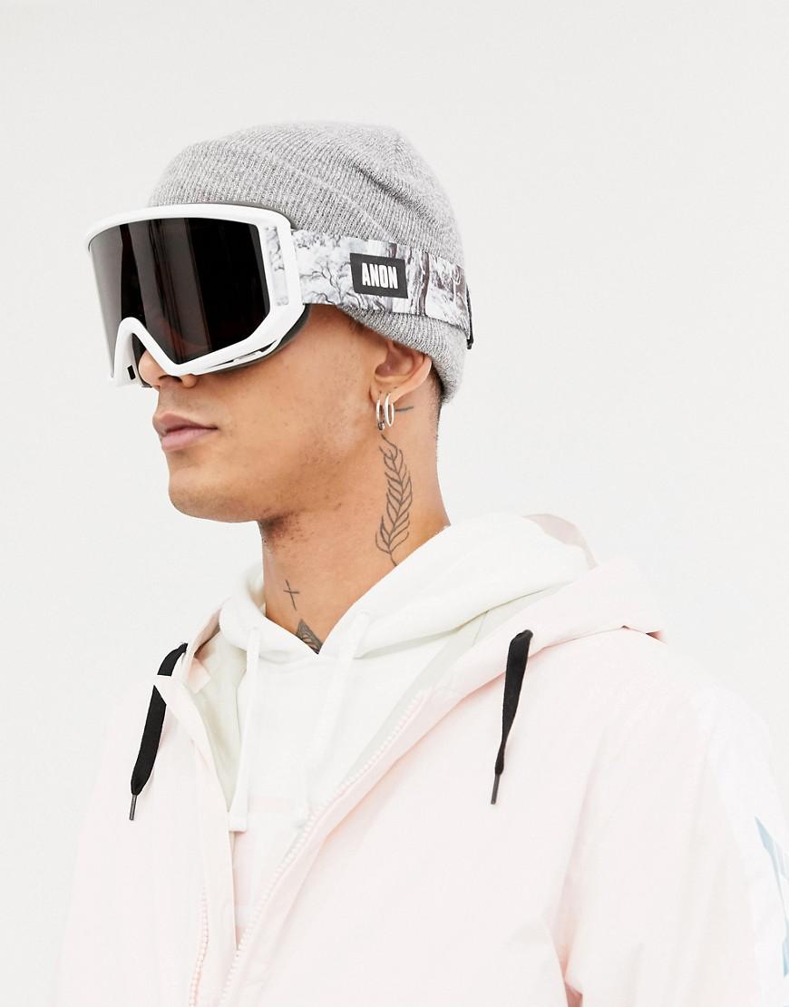 Anon Relapse Mfi Snow Goggles In White White Modesens