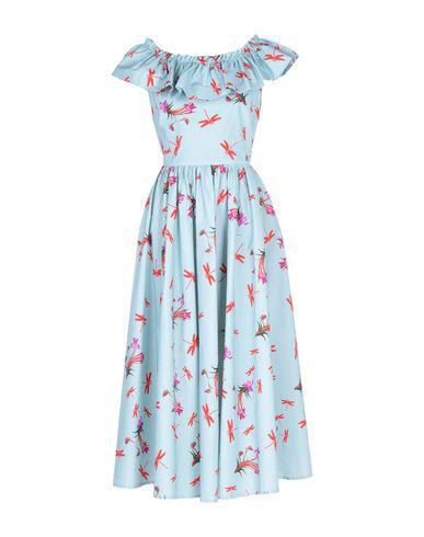 1614cdc579 Vivetta Midi Dress In Sky Blue