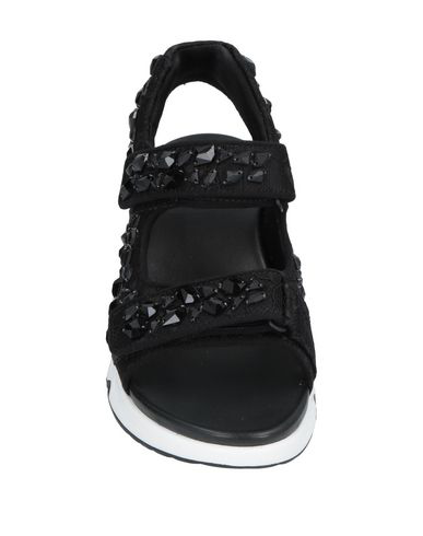 a03116acec20 Ash Lulla Stones Open Sneakers In Black
