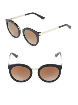 eccc632e00ae4 O By Oscar De La Renta 52Mm Cat Eye Sunglasses In Smoke Demi