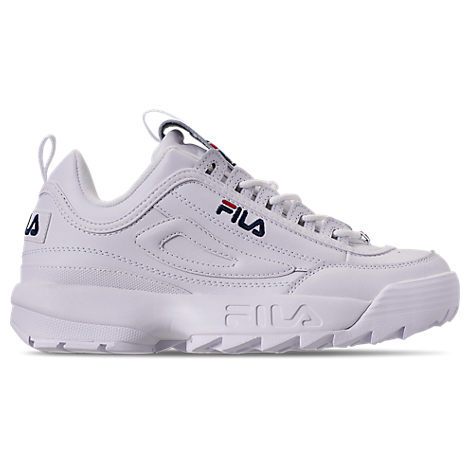 wholesale dealer 53e21 e7128 Fila Men s Disruptor Ii Casual Athletic Sneakers From Finish Line In White