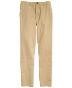 Adaptive Men's Rod Custom Fit Chino Pants With Magnetic Zipper in Mallet