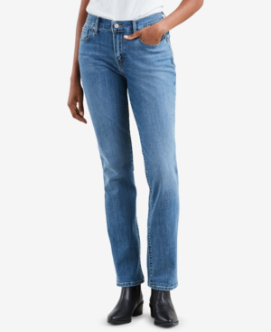 68af76b2ef Levi's 505 Straight-Leg Jeans In Sparkly Night Sky | ModeSens