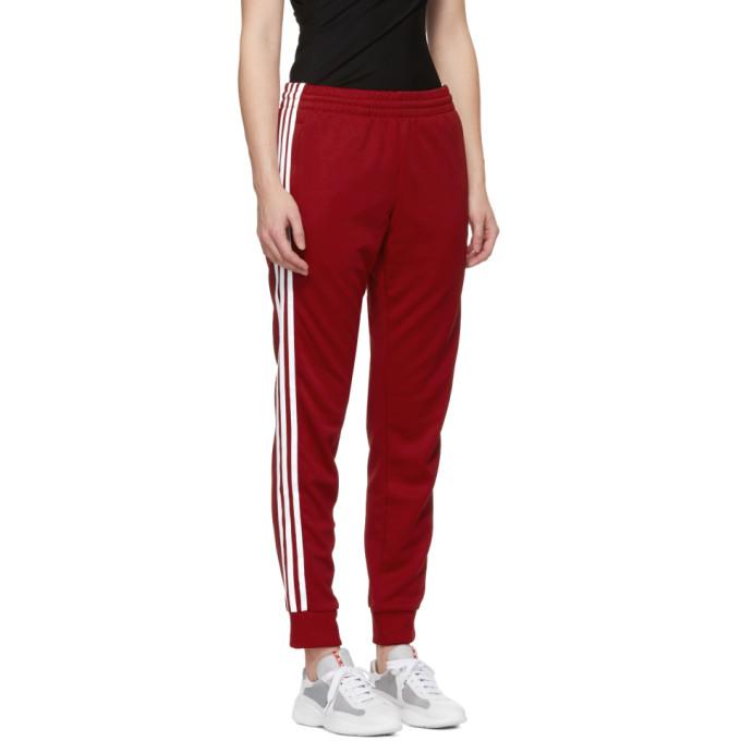 fa6db61166b Adidas Originals Red Sst Track Pants | ModeSens