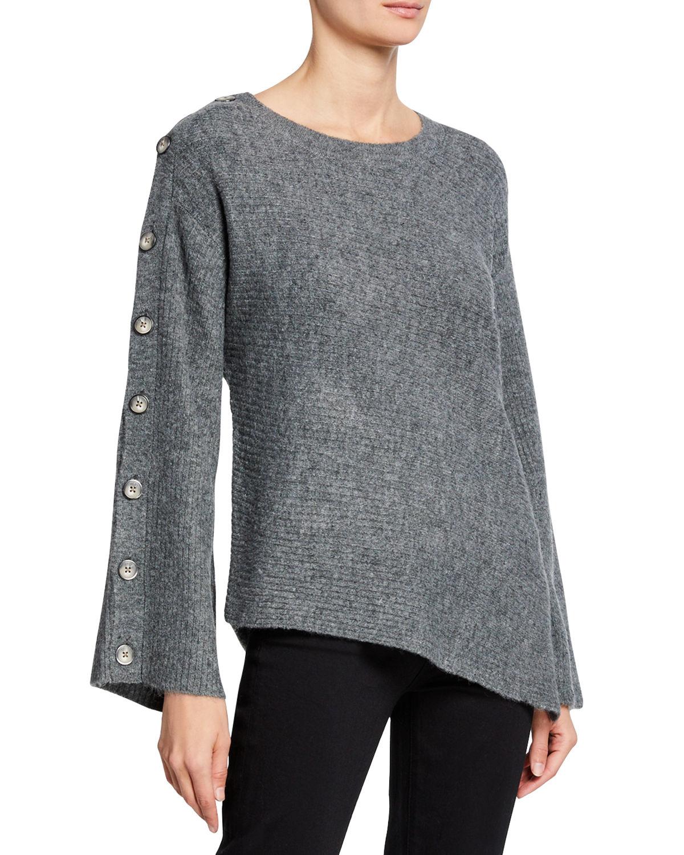 77674f093b3 Rachel Rachel Roy Embellished Asymmetrical Sweater