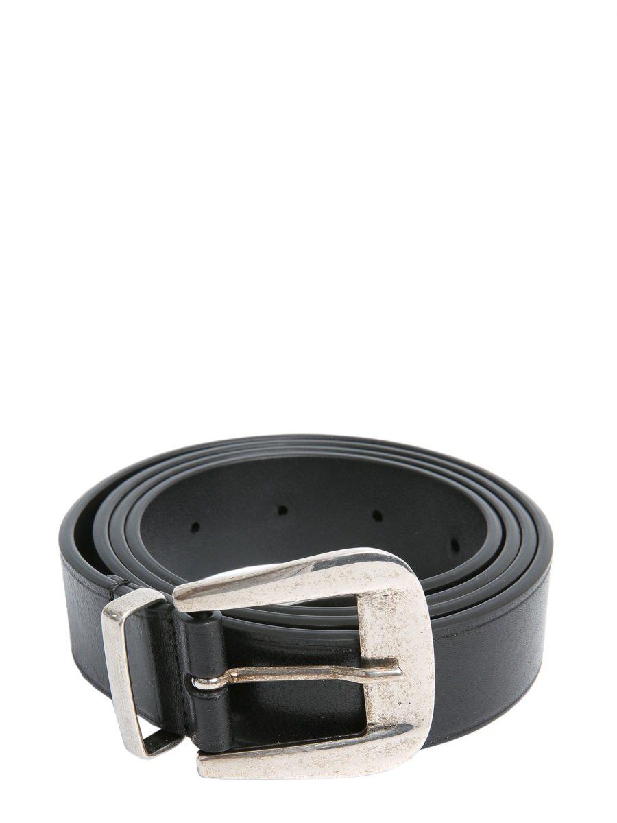 Givenchy Black Leather Belt