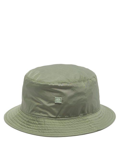 8f9ad4fc22cced Acne Studios - Face Technical Bucket Hat - Womens - Khaki | ModeSens